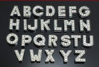 Cheap Wholesale-130pcs lot Free Shipping Crystal Silver Metal Charms Alphabet Letter A-Z Floating Locket Charms For Glass Locket