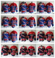 Wholesale New York Rangers Hockey Men Jerseys Mark Messier ryan mcdonagh Henrik Lundqvist rick nash Hooded Sweatshirt Jackets Jersey