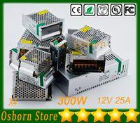 Wholesale 4pcs DHL Free W A LED switching power supply AC V V to DC V for led strip light transformer