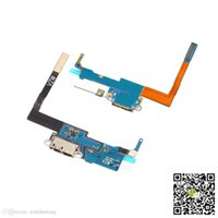Wholesale Cellphone Repalcement parts For Samsung Galaxy Note3 N900V charger charging connector usb dock port plug flex cable ribbon N900AFlexCable