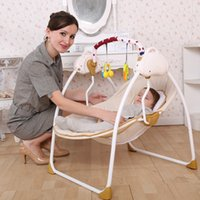 Wholesale 2016 baby electric rocking chair bouncer intelligent baby swing chair baby chaise lounge music