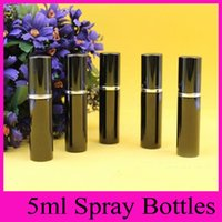 Wholesale 2016 Hot Sale Mini Portable Travel Refillable Perfume Atomizer Bottle For Spray Scent Pump Case ML Empty Bottles
