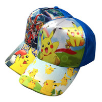 Wholesale Cheap price new Poke pattern Children accessories children hat peaked cap sunbonnet lovely style