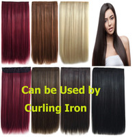 Wholesale Hot Fashion Sexy Hairpiece Multicolor Highlighting Colours Synthetic Hair Highlight Long Straight Clip In hair Extensions