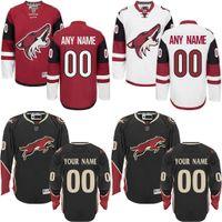 arizona mix - Customized Men s Arizona Coyotes Custom Any Name Any Number Ice Hockey Jersey Authentic Jersey Embroidery Logos Accept Mix Ord size S XL