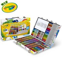 Wholesale Crayola Inspiration Art Case Tools to Fuel Your Imagination crayons short washable markers paper sheets Christmas Gift