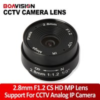 Wholesale 2 MM Lens Wide Angle Degree CCTV Camera Lens Dome CS Mount Support CCTV IP Analog Camera