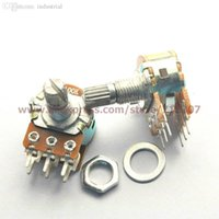 Wholesale Duplex Potentiometer stereo k B50K mm actuator length WH148