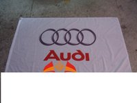 audi club - audi car racing team flag audi car club banner CM polyster flagking brand flag