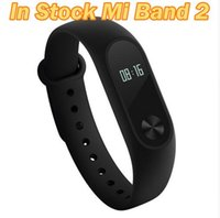 Wholesale Original XIAOMI Mi Band wireless bluetooth bracelet smart heart rate fitness tracker monitor bluetooth phone waterproof watch