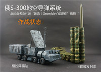 Others army toys vehicles - Russia Army S long range surface to air missile systems toy model SA Grumble Radar and Missile launching vehicle
