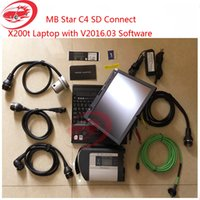 Wholesale Top Quality MB star sd Connect Compact XENTRY amp VEDIAMO with X200t Benz Star C4 for Car amp Truck Diagnose SSD Software
