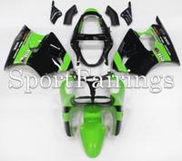 achat en gros de zx6r vert carénage-3 Cadeaux gratuits Nouveau moto ABS kits carénage pour kawasaki Ninja 00 01 02 ZX 6R 636 2000 2001 2002 ZZR600 ZX6R ZX636 carrosserie noir vert