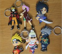 anime rings - New Arrival Anime Catoon Hokage Metal Keychain Pendant Key Chain Chaveiro Stainless Steel Key Ring high quality