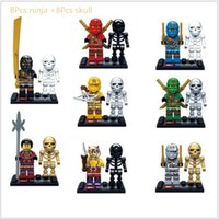Wholesale 2016 New Designs set DIY Legoes Compatible Ninjagoes Building Block Minifigure Model Toys Kids Xmas Gift Without Box