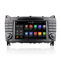 Acheter R c vidéo-Android 5.1 voiture lecteur DVD radio GPS Quad Core pour Mercedes-Benz C-classe CLC-classe W203 CLK W209 avec Wifi 3G Bluetooth EX-TV CanBus