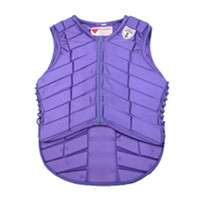 active safety - Sport Light Knight Outdoor Vest Equestrian Riding Safety Vest Protective Safety Clothing Comfortable EVA Horse back riding vest Women