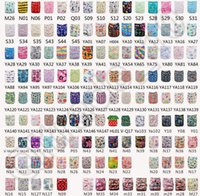 Wholesale 500PCS New popular Style Baby Infant Printed Cloth Diaper One Size Reusable ventilate TPU Nappy