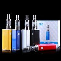 Cheap ECT athentic box mod electronic ecigarette et30p 30W E cig 2.5 ml mini fog 0.3ohm airflow control vaporizer 2200mah et 30P