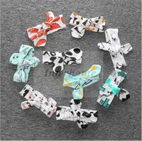 baby fox band - Baby Ins Hairband Bowknot Fox Panda Headband Banana Owl Bandanas XO Fashion Headwrap Elastic Head Bands Hair Rope Girls Accessories B390