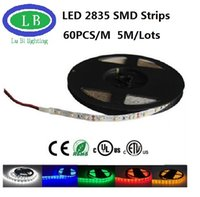 Wholesale 4m m Ultra Bright LED Strip Light SMD2835 V DC waterproof pull LED Reel Light Diode Tape LED Strip Light Ribbon Flexible