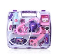 Wholesale Spot explosion models Children s play puzzle Simulation medicine box Doctor Set Toys Gifts for girls