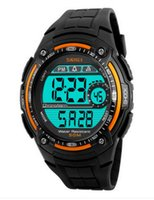 beauty students - Skmei beauty watch men waterproof personality electronic watch large dial outdoor sports watch function of male students