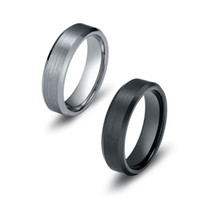 beveled edge - Tungsten Carbide Wedding Band Ring For Men Women mm Satin Finish Beveled Edge US Leave Message About Size Color