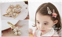 atm accessories - Barrettes Pin Alloy Hair Accessory Hair Decoration Princess Baby Style Cute Children Girl Beautiful Birthday Gift New Christmas ATM