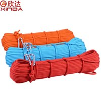 Wholesale Orignal XINDA meter durable mm KN static rope professional Safety paracord cord for Climbing Mountaineering Camping Hiking
