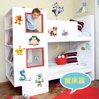 best selling posters - best selling new Poke PVC Wall Stickers cm D Cartoon Wall Poster Home Decoration Kids Gift Children wallpapers wall decals