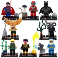 Wholesale SY283 New DC Justice League Building Blocks Minifigures Black Manta figures toys collection children gift