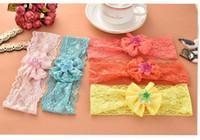 baby ebay - Baby Girls Lace Bow Headbands Kids Hair Accessories Ebay Amazon Hot Sale Infant Lace Headbands