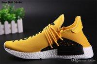 Cheap Pharrell Williams X NMD HUMAN RACE Grey Sneaker Original Mens Sports Running Shoes Black White Size 40-44 Cheap Discount discount