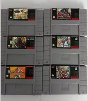 Wholesale SFC Games Cartridge for SNES Games Super Mario Megaman
