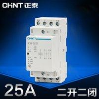 Wholesale CHINT home AC contactor V guide rail NCH8 N O N C P A