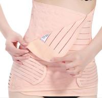Wholesale 3pcs Set Belly Band Corset Belts Maternity Women Waist Support Band Stomach Band Belly Cummerbund Corset Belt