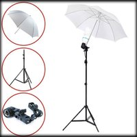 Wholesale by dhl or ems pieces photo stuido photography set m light stand E27 AC socket adapter Flash Reflector Studio Umbrella