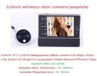 Wholesale 3 inch LCD Display X Digital Zoom Digital Doorbell Video Door Peephole Viewer Camera Degree Wide Night Vision