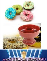 bakery cutters - Fashion Hot Donut Maker Cutter Mold Fondant Cake Bread Desserts Bakery Mould Tool DIY MYY169