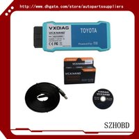 arrival inspection - 2016 New Arrival obd2 car tools VXDIAG VCX NANO for TOYOTA TIS Techstream V10 Compatible with SAE J2534 WIFI Version