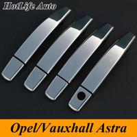 Wholesale Opel Astra H J Insignia Mokka Corsa D Zafira Vectra B Car Door Handle Covers Trim for Vauxhall Astra h Car Accessories