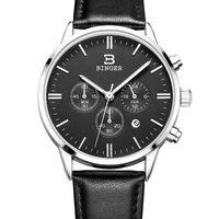 www.aliexpress.com - http www aliexpress com store product Switzerland BINGER Watches Chronograph Men Watches Sports Quartz Watch Luxury Brand Watch Men B