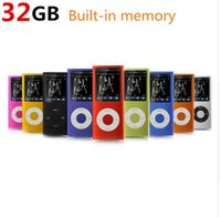 Wholesale 2016 New color Slim th gen Mp3 Mp4 Player GB With