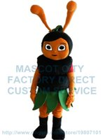 bees mascot costumes - black bee mascot costume horney been custom cartoon character cosply adult size carnival costume
