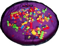 Wholesale portable kids toy storage bag CM Portable Play Mat Toy Storage Bags For Kids Children Nylon kids Playing Mat Blanket ZD060A