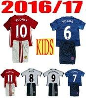 best goalkeepers - Kids Manchester Unitedes Best Thai Quality Soccer Jerseys men goalkeeper Football shirt MKHITARYAN De Foot