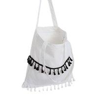 best tote bags school - Best Deal New Good Quality PC The Fringed Ladies Canvas Bag Leisure School Shoulder Bag Handbag Gift PC