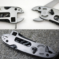 Wholesale Tool Sets Hand Tool Sets Multi Functional EDC Tool Adjustable Wrench Jaw Screwdriver Pliers Knife Tool Set Survival Gear Tool E CH