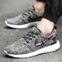 Wholesale 4 colour autumn new styles men shoes HIgh quality men casual Shoes man breathable flats shoes hot sale